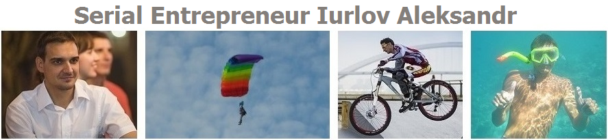 Alex Iurlov serial entrepreneur from Russia